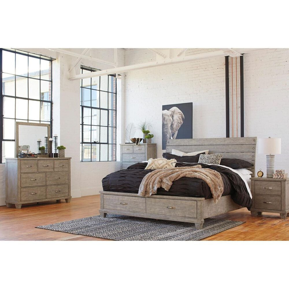 Signature Design by Ashley Naydell Dresser in Rustic Gray, , large