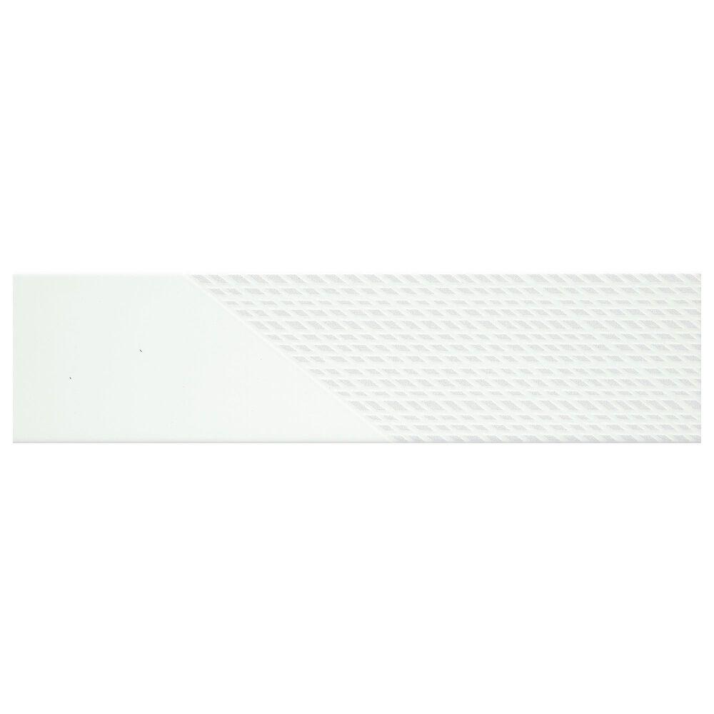 "Emser Express Burst White 3"" x 12"" Ceramic Tile, , large"