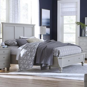Riva Ridge Cambridge Queen Storage Bed in Gray, , large