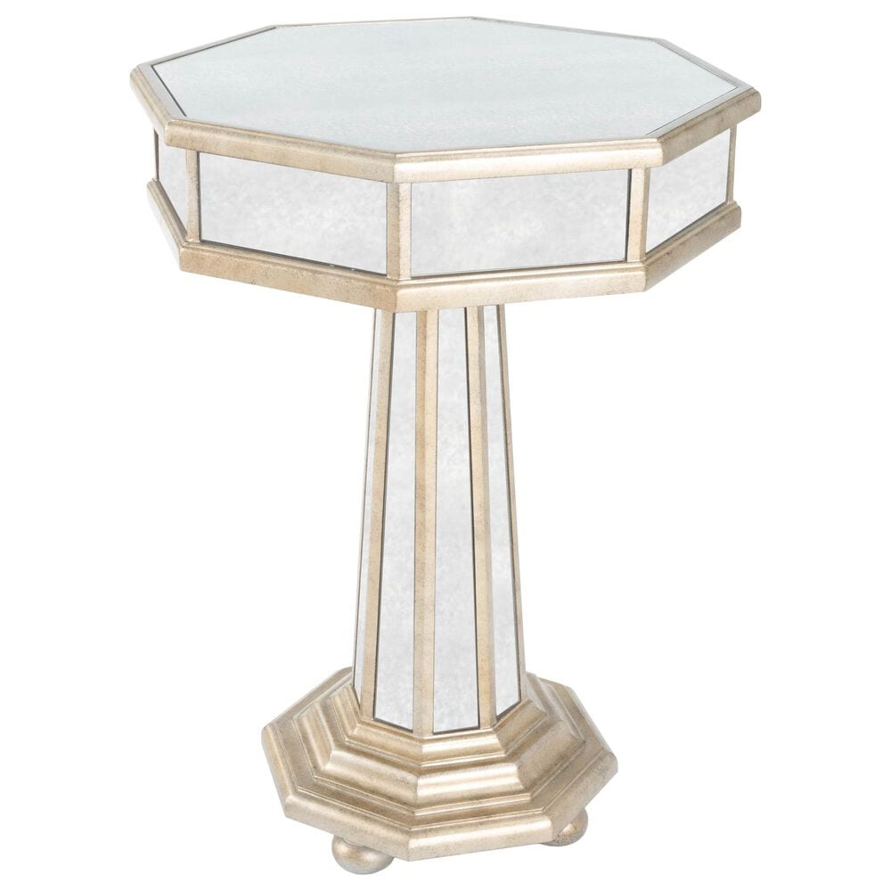 Butler Elena End Table in Silver, , large