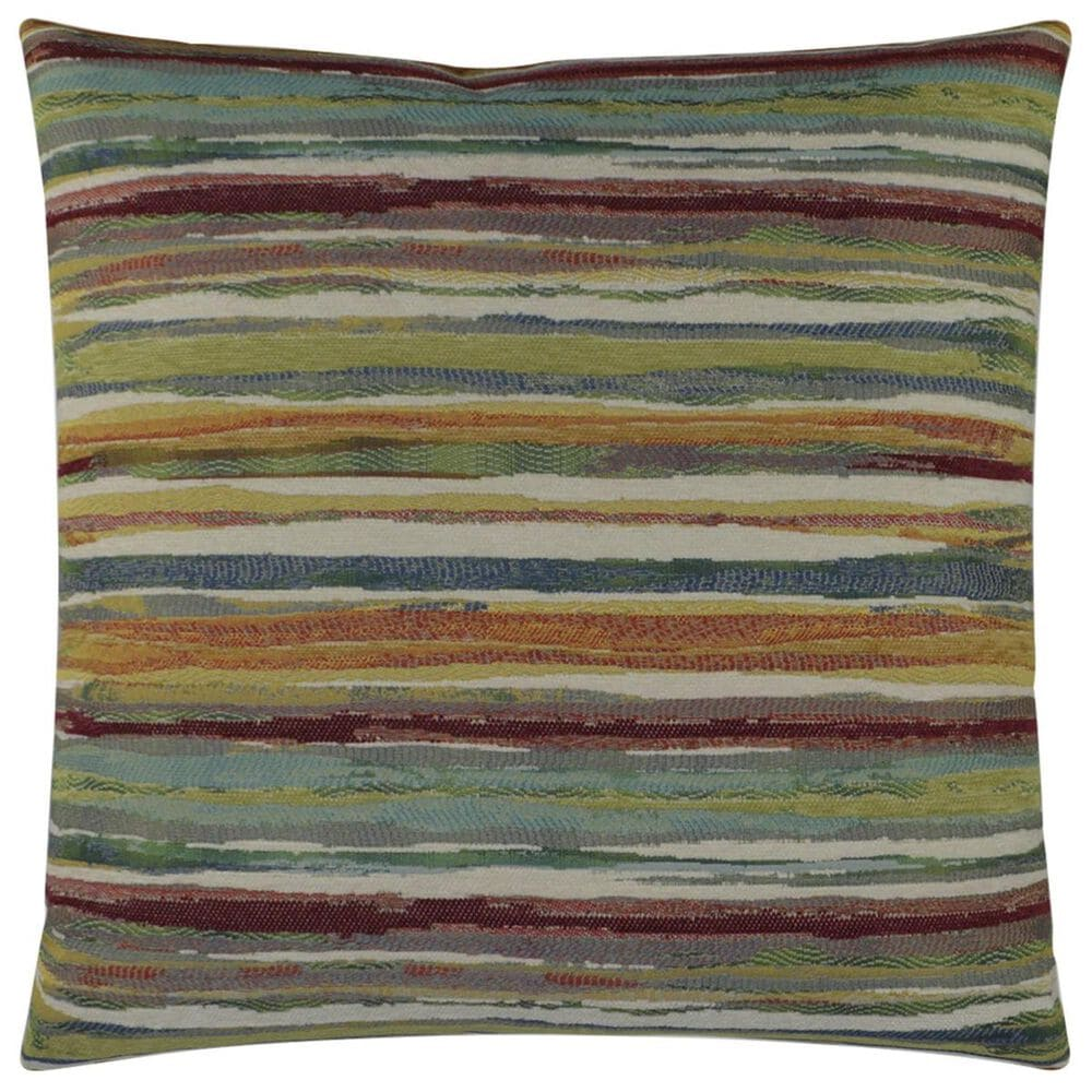 """D.V.Kap Inc 24"""" Feather Down Decorative Throw Pillow in Parallel-Multicolor, , large"""