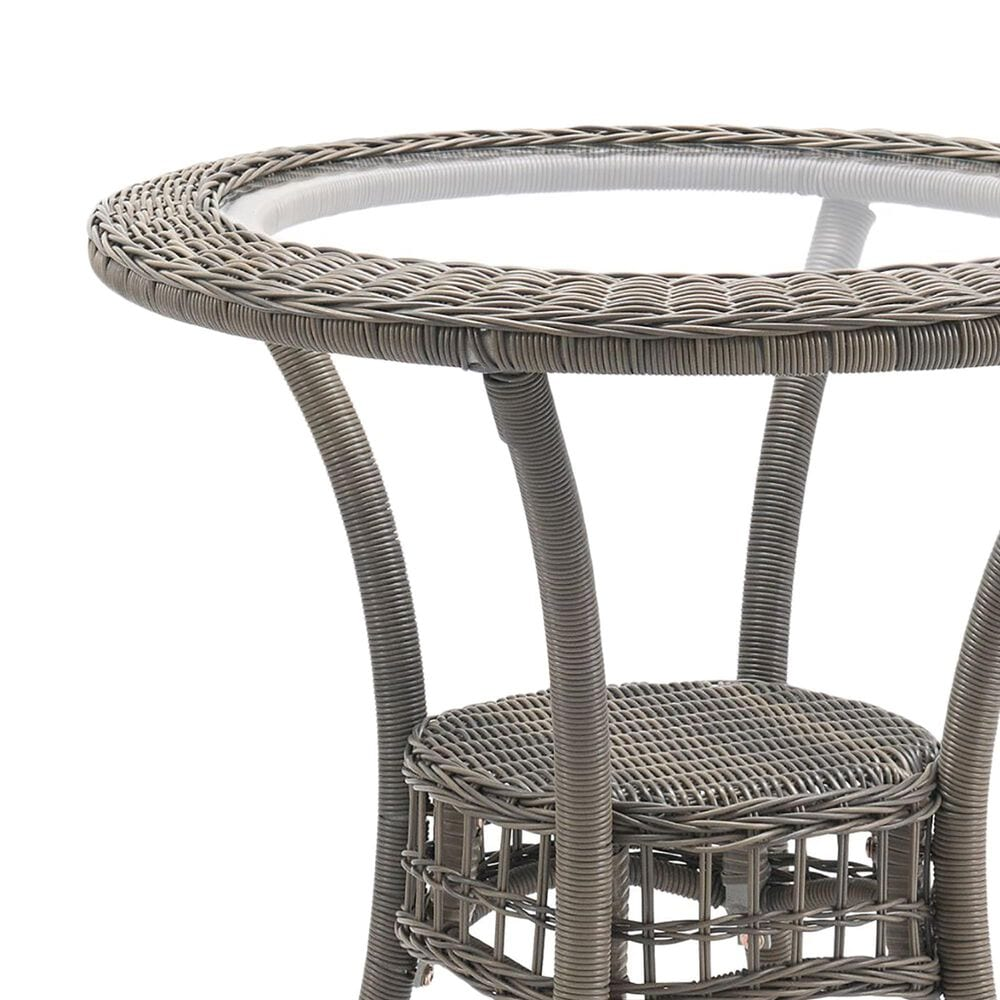 """Bolton Furniture Carolina 30"""" Patio Dining Table in Gray, , large"""