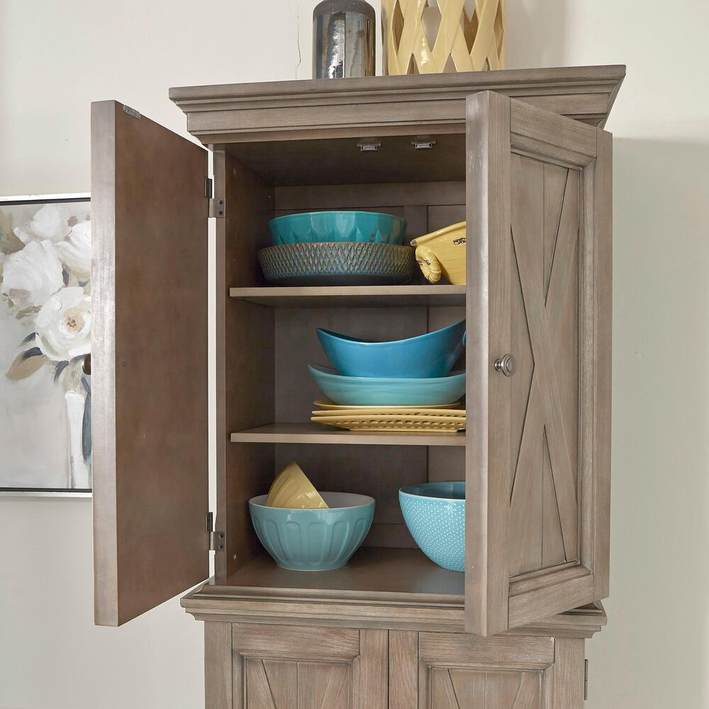 Home Styles Mountain Lodge Pantry in Gray, , large
