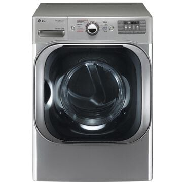 LG 9.0 Cu. Ft. Mega Capacity Electric Dryer with Steam in Graphite Steel, , large