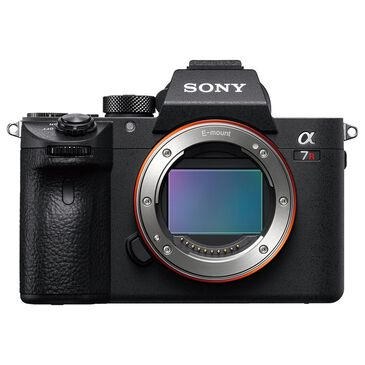 Sony Alpha A7R III Mirrorless Digital Camera Body Only in Black, , large