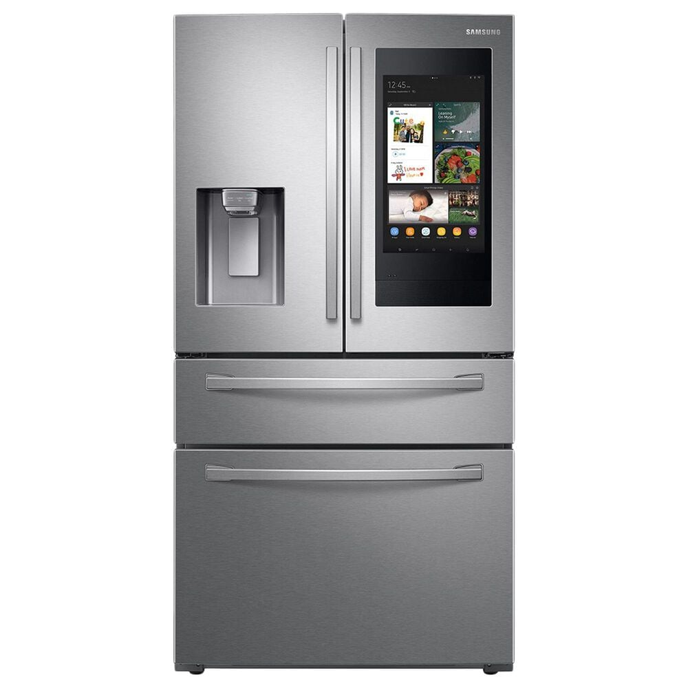 Samsung 2-Piece Kitchen Package with 28 Cu. Ft. French Door Refrigerator with StormWash 48 dBA Dishwasher in Stainless Steel, , large