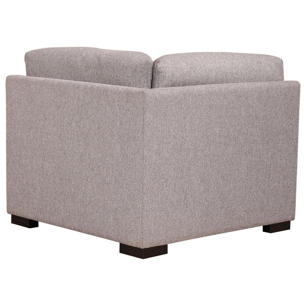 Moe's Home Collection Romeo Corner Chair in Grey, , large