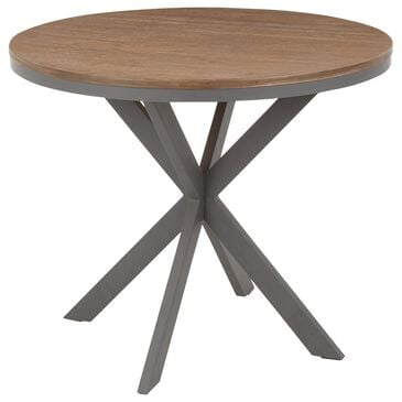 Lumisource Dakota Dinette Table in Brown/Grey, , large