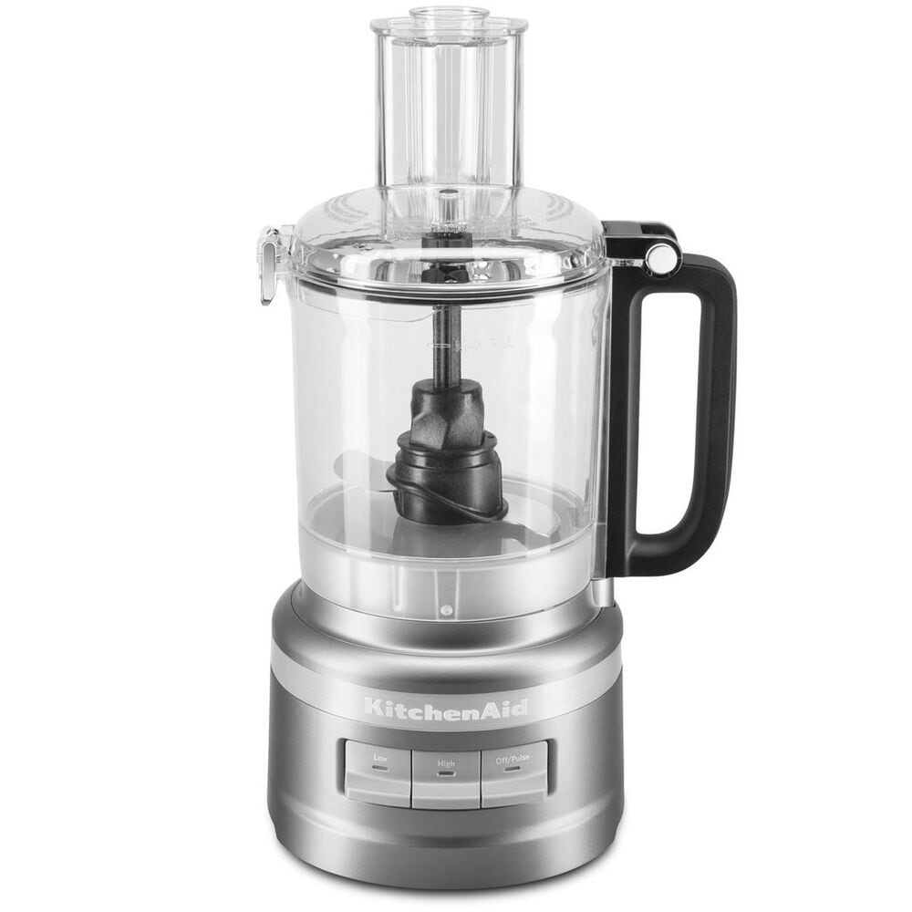 KitchenAid 7 Cup Food Processor in Silver, , large