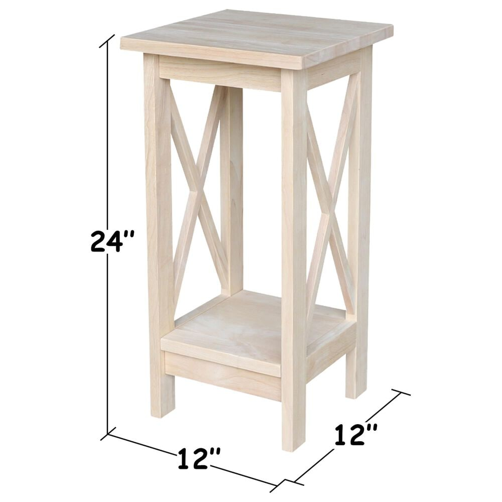 """International Concepts 24"""" Plant Stand in Unfinished, , large"""