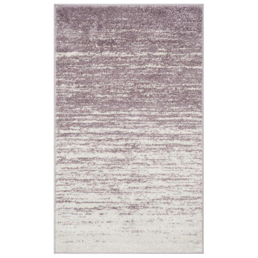 Safavieh Adirondack ADR113L 4' x 6' Cream and Purple Area Rug, , large