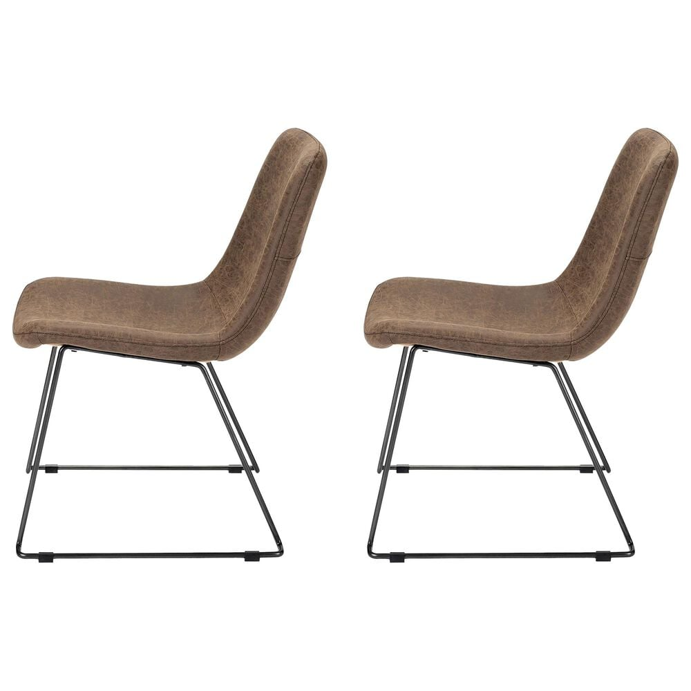 Mercana Sawyer II Dining Chair in Brown (Set of 2), , large