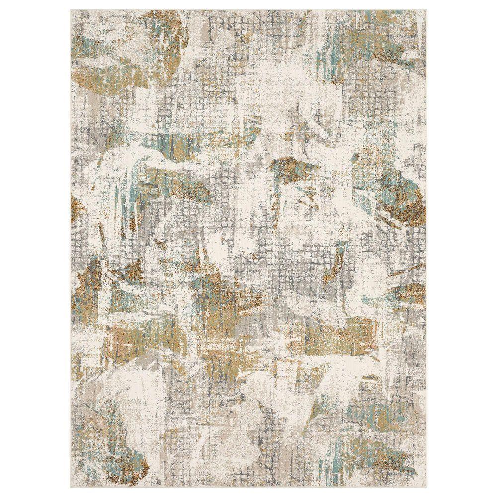 Karastan Epiphany Merce 8' x 10' Alabaster Area Rug, , large