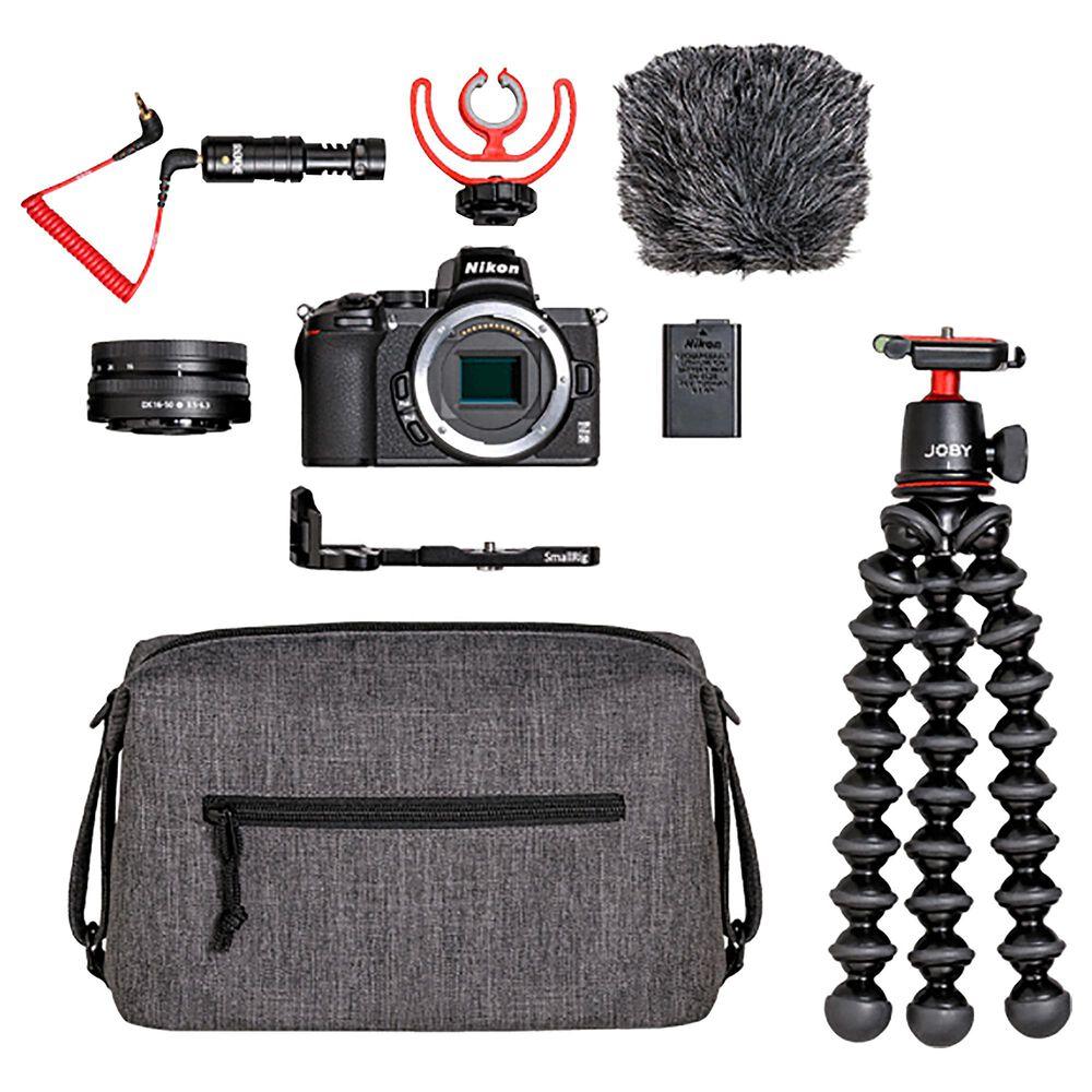 "Nikon Creator""s Kit with Z50 Digital SLR Cameras and Z DX 16-50mm f/3.5-6.3 Lens, , large"