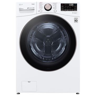 LG 4.5 Cu. Ft. Front Load Washer with TurboWash 360 in White, , large