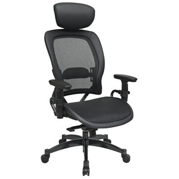 OSP Home 27 Series Professional Chair in Black, , large