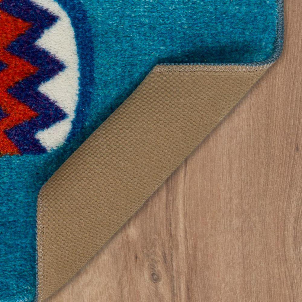 """Karastan Pinwheels 2' x 3'3"""" Blue Area Rug , , large"""