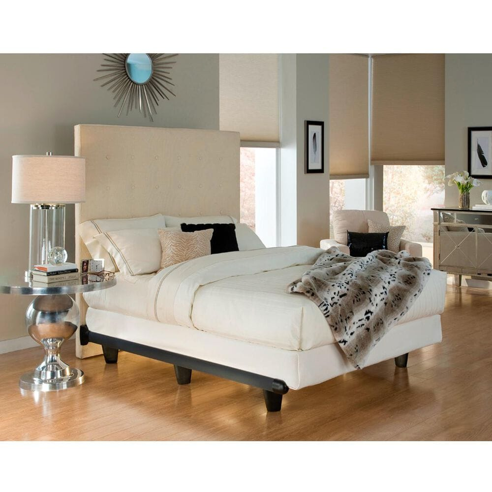 Knickerbocker Bed Company Queen Embrace Bed Frame in Black, , large