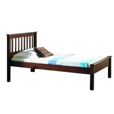 Cambria Designs Contempo Twin Bed in Cappuccino, , large