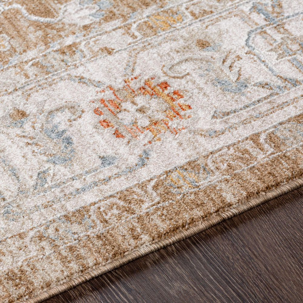 "Surya Avant Garde AVT-2315 7'10"" x 10'3"" Orange, Blue and Beige Area Rug, , large"