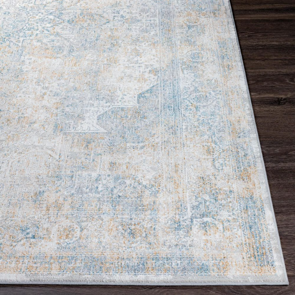 Surya Carmel 10' x 14' Medium Gray and Taupe Area Rug, , large