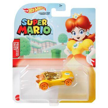Hot Wheels Hot Wheels Super Mario Character Car Princess Daisy, , large