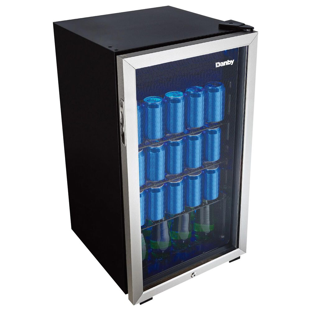 Danby 3.1 Cu. Ft. Beverage Center in Stainless Steel, , large