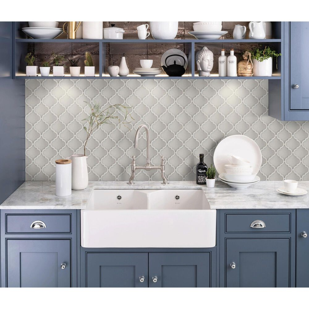 "Emser Morocco Fawn 10"" x 11"" Ceramic Mosaic Sheet, , large"