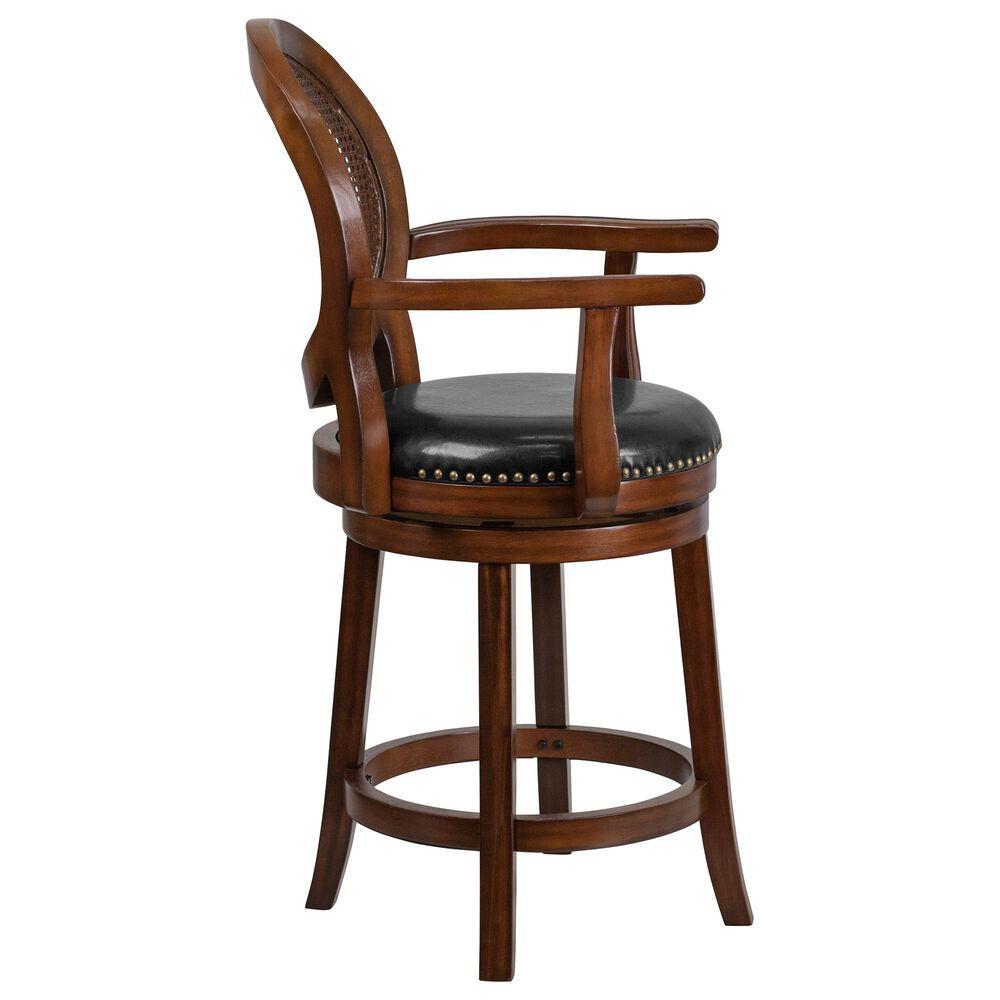 "Flash Furniture 26"" Swivel Counter Stool in Black, , large"