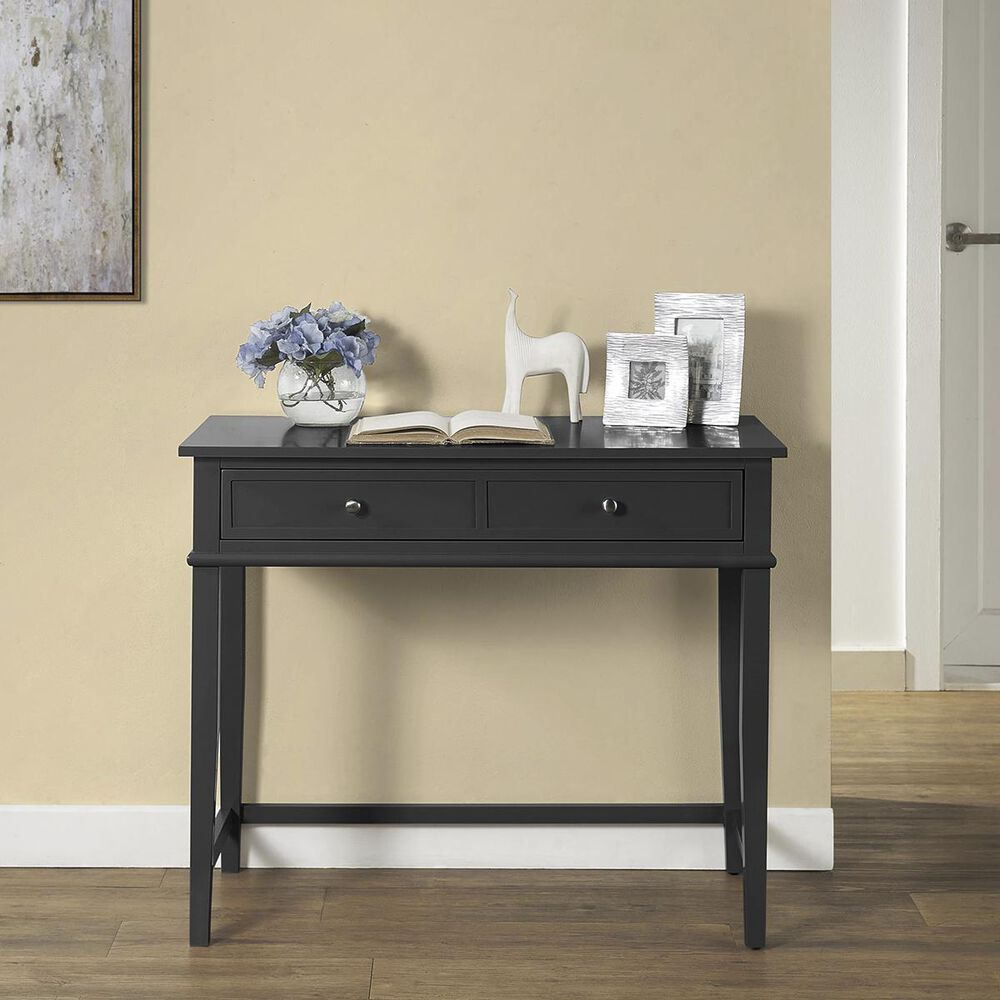 DHP Cottage Hill Writing Desk in Black, , large