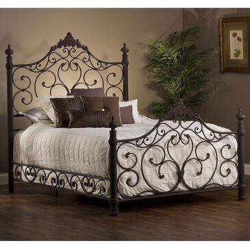 Richlands Furniture Baremore King Bed in Weathered Dark Brown, , large