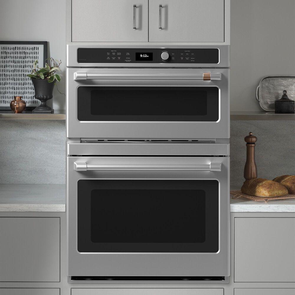 """GE Appliances 30"""" Combination Double Wall Oven with Convection in Stainless Steel, , large"""