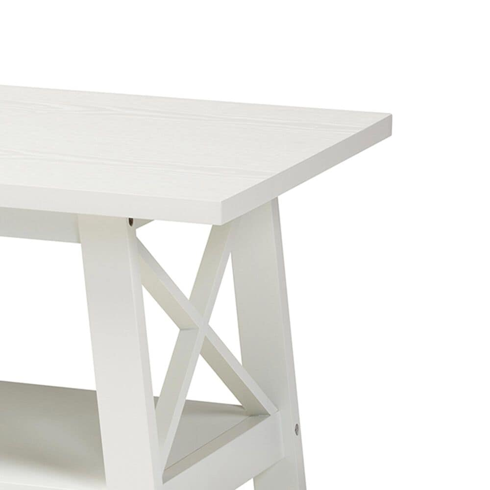 Baxton Studio Gremain Coffee Table in White, , large