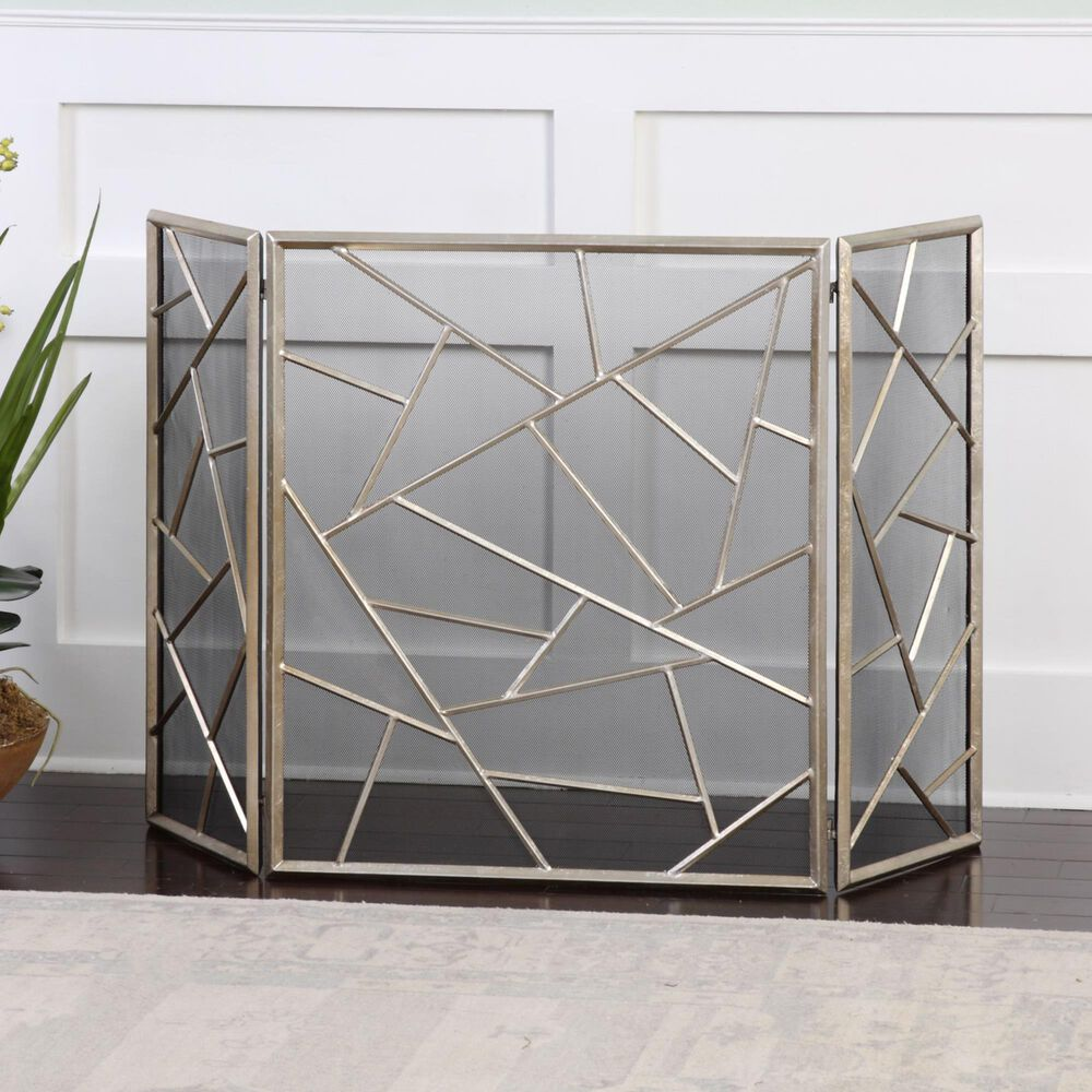 Uttermost Armino Fireplace Screen, , large