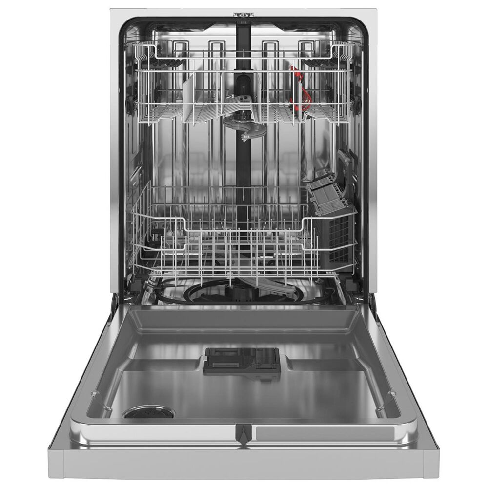"""GE Appliances 24"""" Built-In Dishwasher with Hidden Controls and Bottle Jets in Stainless Steel , , large"""