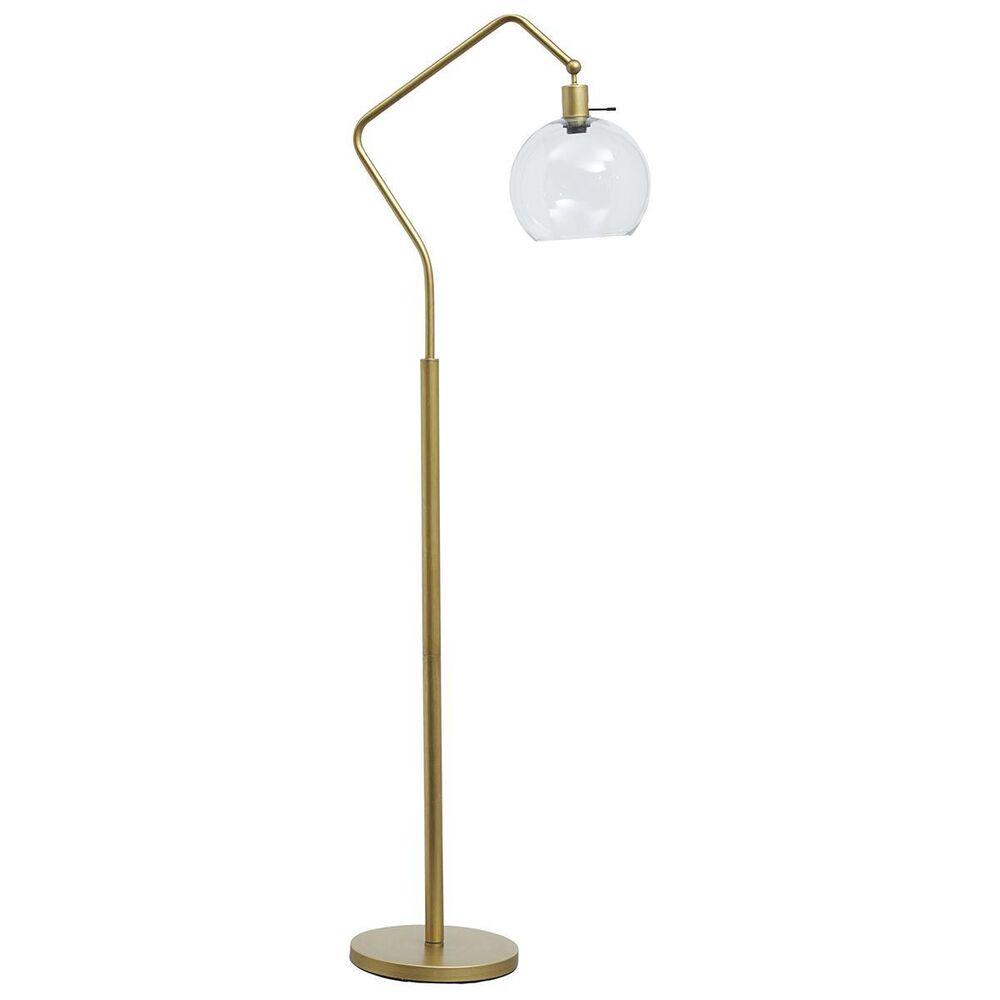 37B Marilee Floor Lamp in Antique Brass, , large