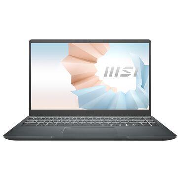 "MSI 14"" Modern Laptop | Intel Core i7-1165G7 - 8GB RAM - Intel Iris Xe Graphics - 512 GB SSD in Carbon Gray, , large"