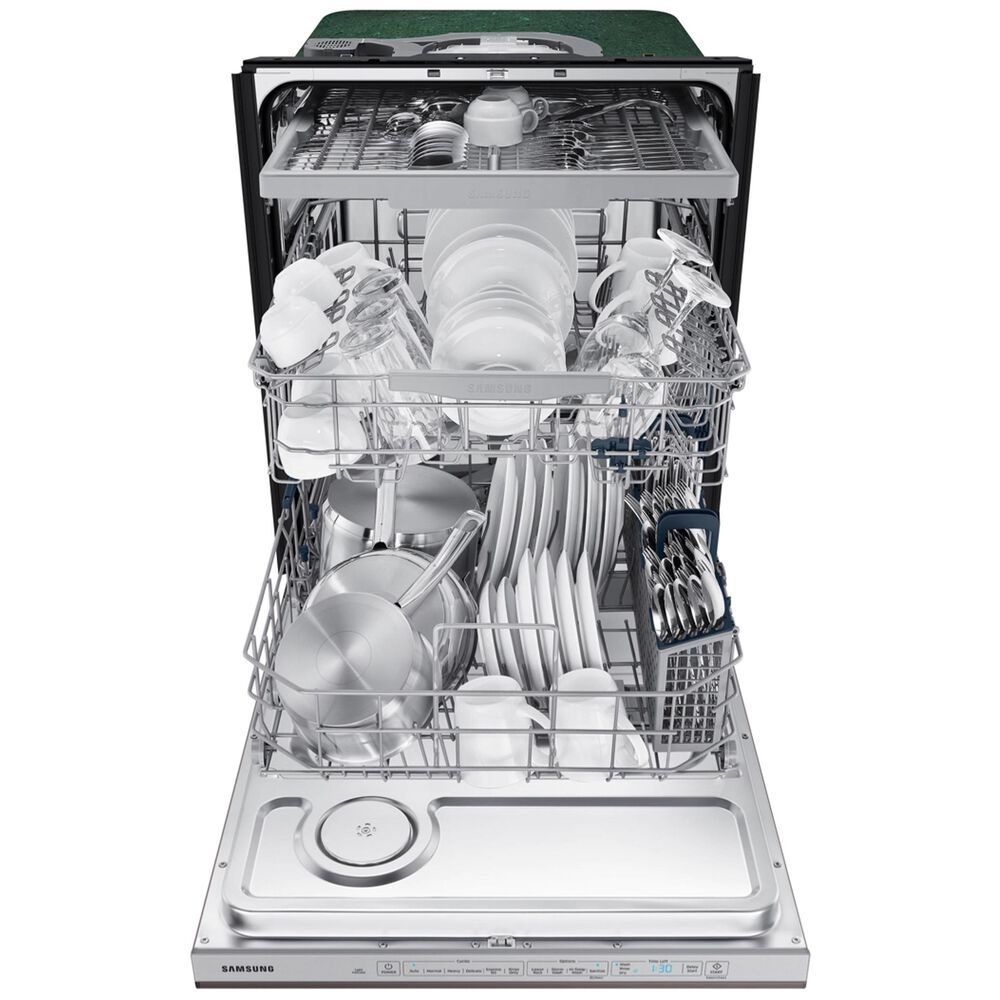 Samsung StormWash 48 dBA Dishwasher in Fingerprint Resistant Tuscan Stainless Steel , , large