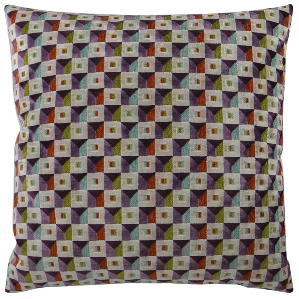 """D.V.Kap Inc 24"""" Feather Down Decorative Throw Pillow in Collage, , large"""