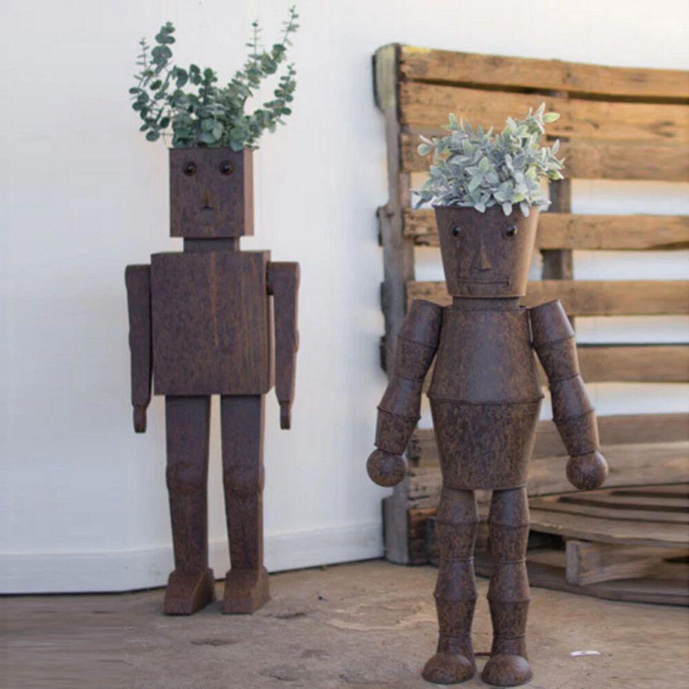 Kalalou Robot Planters (Set of 2), , large