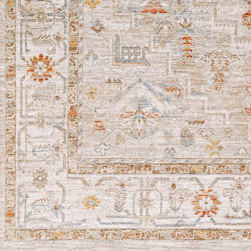 "Surya Avant Garde AVT-2314 7'10"" x 10'3"" Orange, Blue and Beige Area Rug, , large"