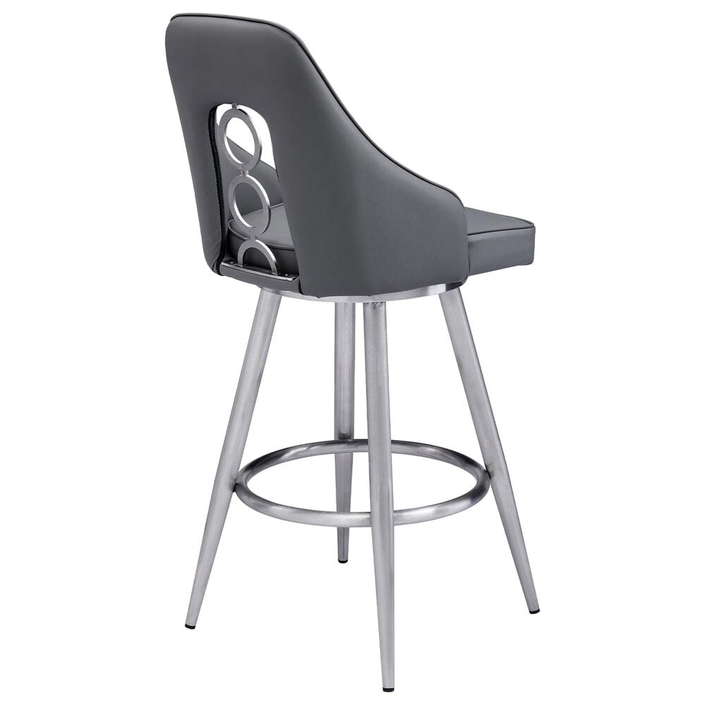 """Blue River Ruby 30"""" Barstool in Grey, , large"""