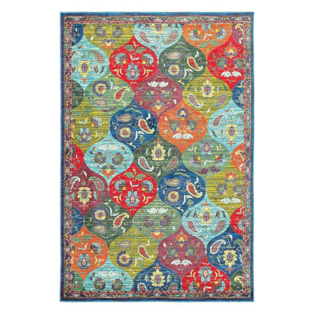 "Oriental Weavers Joli 9648S 3""10"" x 5""5"" Blue Area Rug, , large"