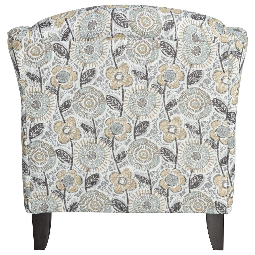 Xenia Contemporary Accent Chair in Dayflower Haze, , large