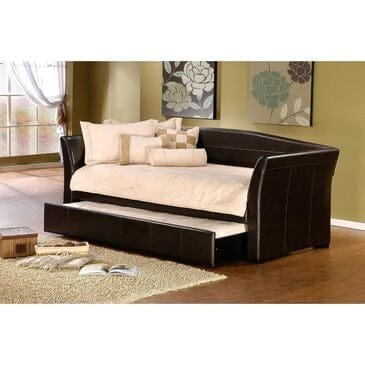 Richlands Furniture Montgomery Daybed with Trundle in Brown, , large