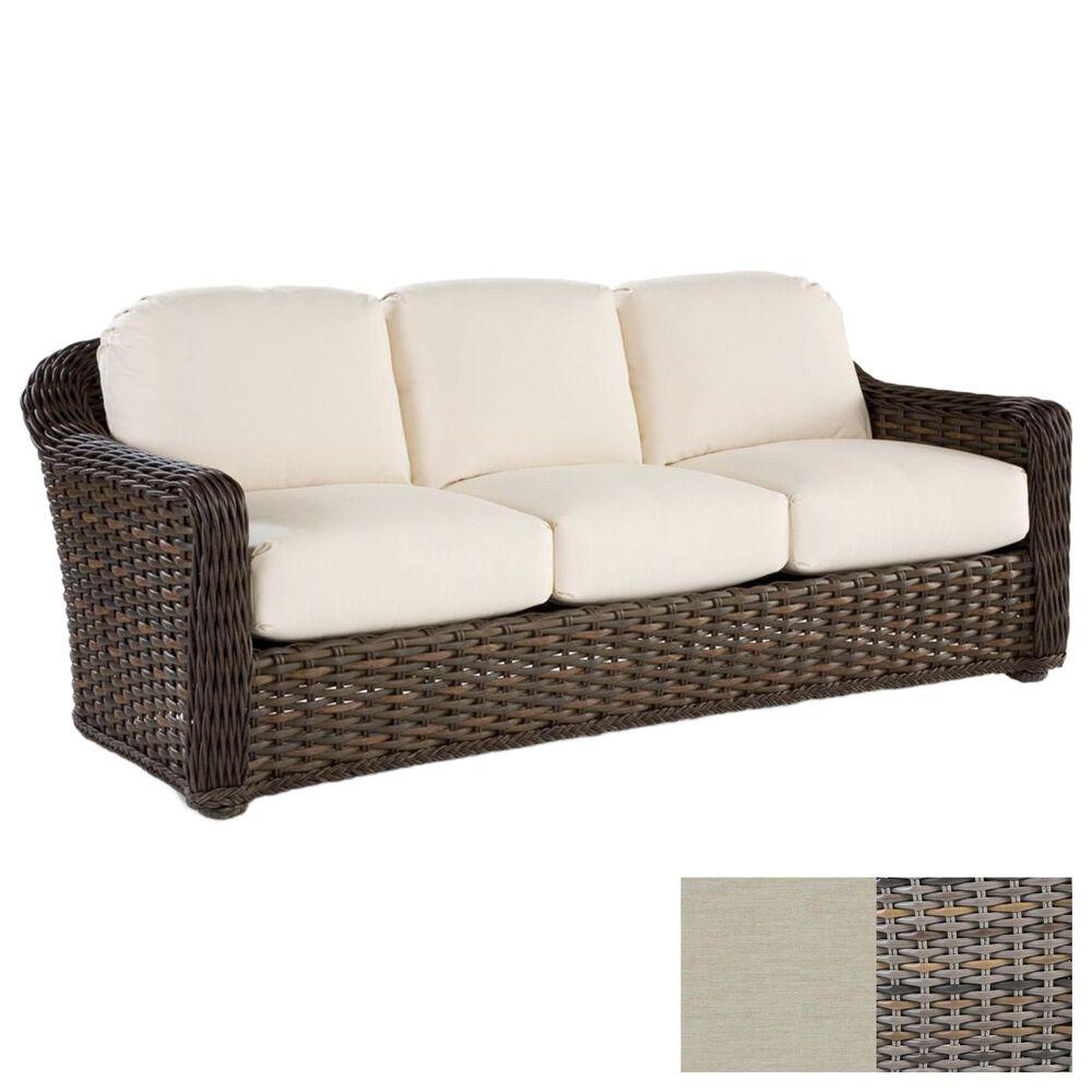 Venture South Hampton Sofa with Vesper Birch Cushion in Sandalwood, , large