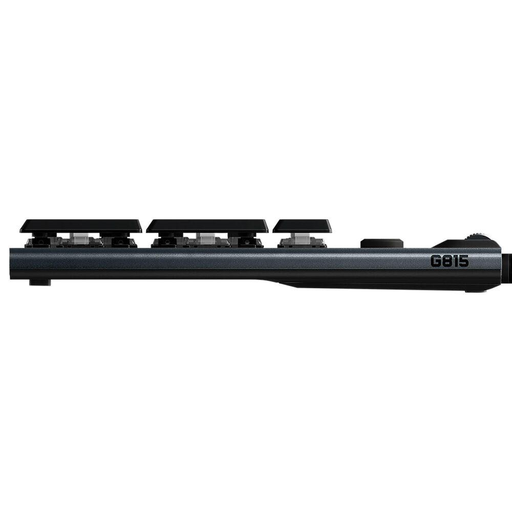 Logitech G815 Lightspeed RGB Mechanical Gaming Keyboard Tactile in Black, , large