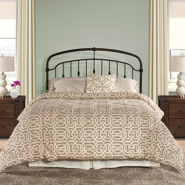 Richlands Furniture Pearson Full/Queen Headboard in Oiled Bronze, , large