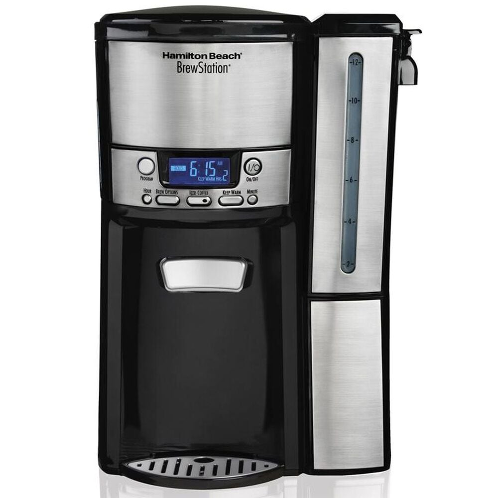 Hamilton Beach BrewStation 12 Cup Dispensing Coffee Maker w/ Removable Reservoir , , large