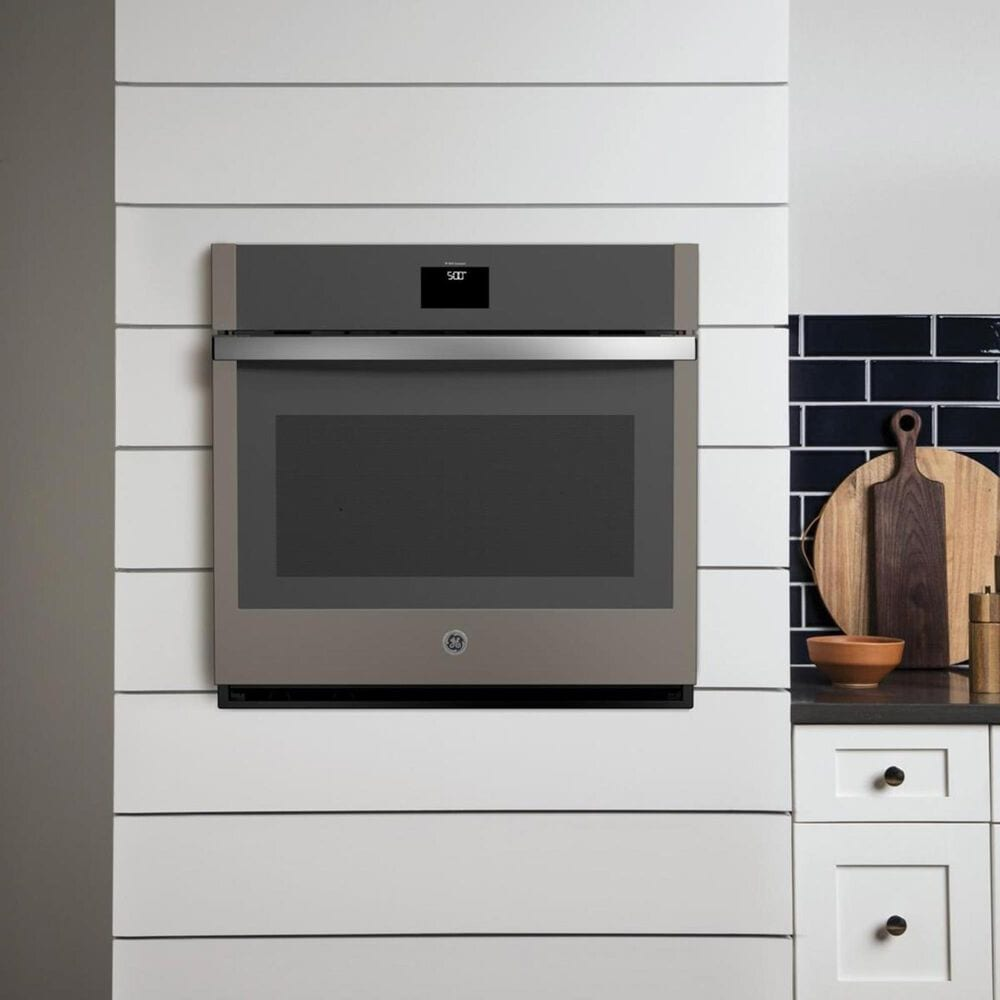 """GE Appliances 30"""" Single Electric Wall Oven with Convection in Slate, , large"""